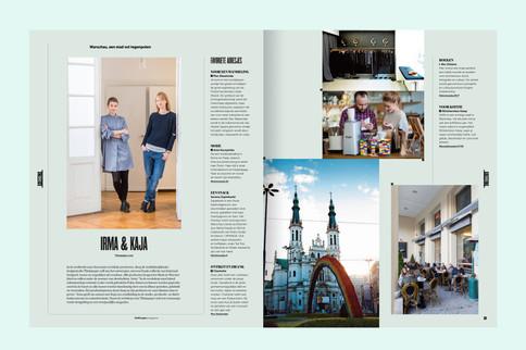 Travel report for De Morgen