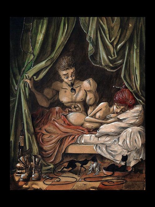 Mars et Venus d'après Lagrenée.