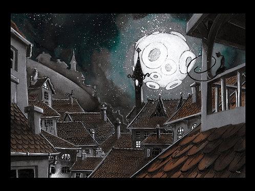 Paysage Nocturne.