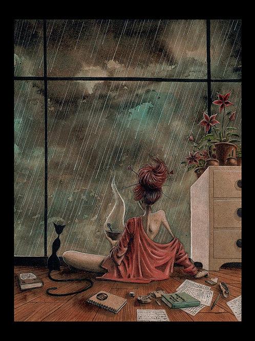 Petit Dèj' pluvieux.