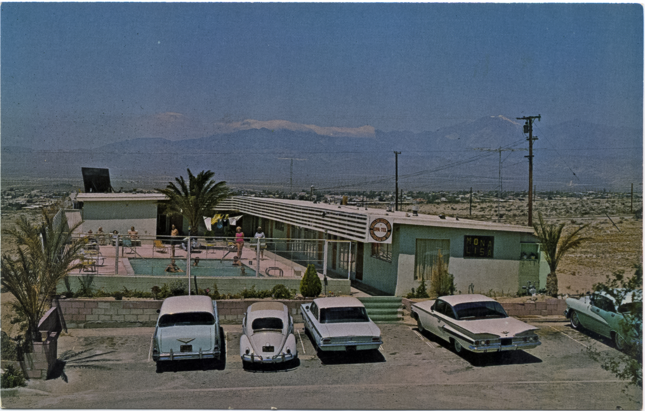 Mona Lisa Motel Spa-Tel undated front