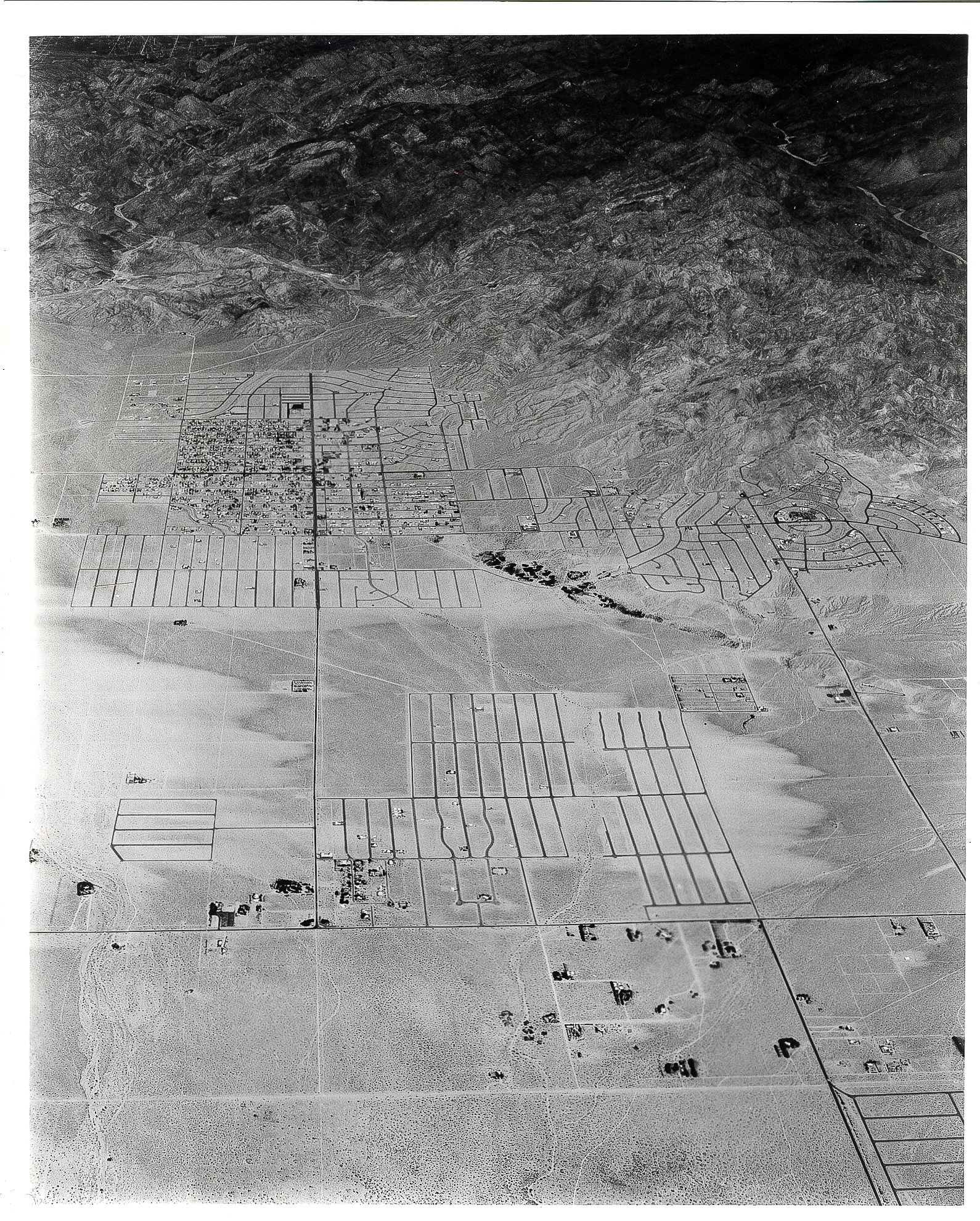 Aerial view 1954