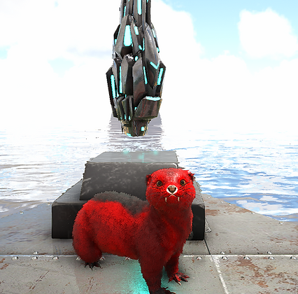 Lvl 180  Otter (Black&Red)