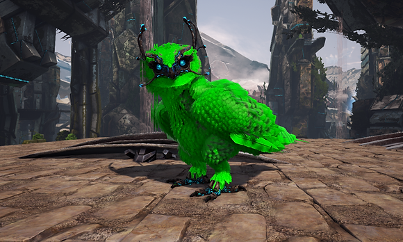 199 All Green Owl Clone Pc PvE