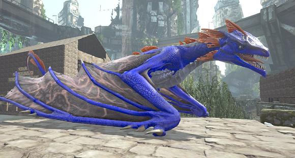190 Blue Wyvern Clone (Pc PvE)