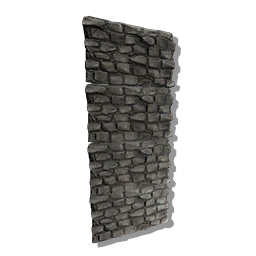 50 Large Stone Walls (Pc PvE)