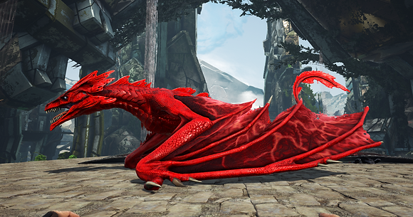 180 All Red Wyvern Clone (Pc PvE)