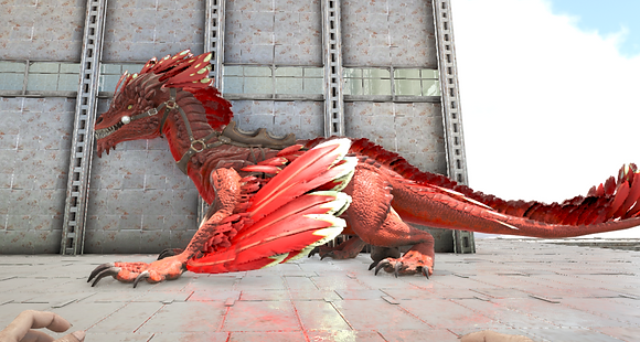 190 Red Rock Drake Clone (Pc PvE)