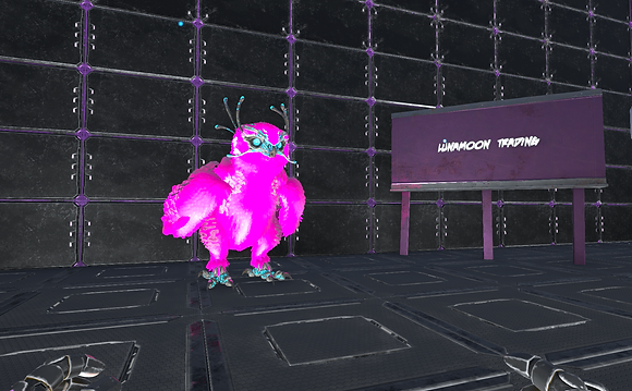 Full Deep Pink Owl (Pc PvE)