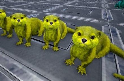 Light Yellow Otter (Pc PvE)