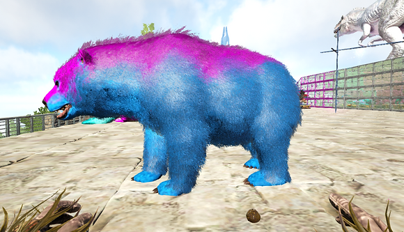 290 Unleveled Male Bear Pc PvE
