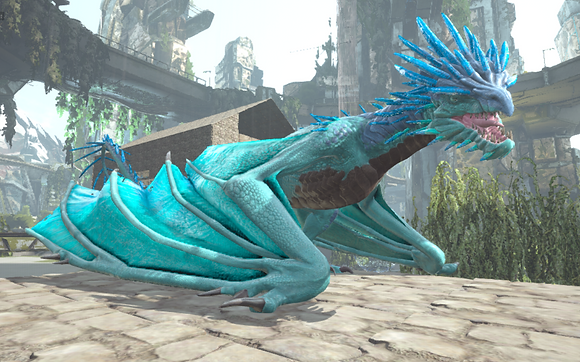 190 Cyan Wyvern Clone (Pc PvE)