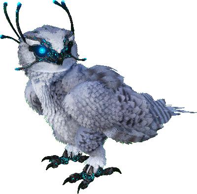 Snow Owl + Saddle (pc pvp)