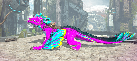 190 Cotton Candy Rock Drake Clone Pc PvE