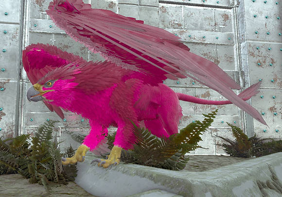 209 All Deep Pink Griffin Clone (Pc PvE)
