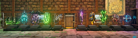 """All """"The Island"""" artifacts (Pc PvE)"""