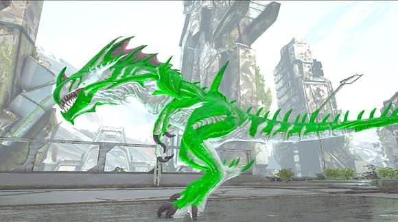 215 White/Green Reaper Clone (Pc PvE)