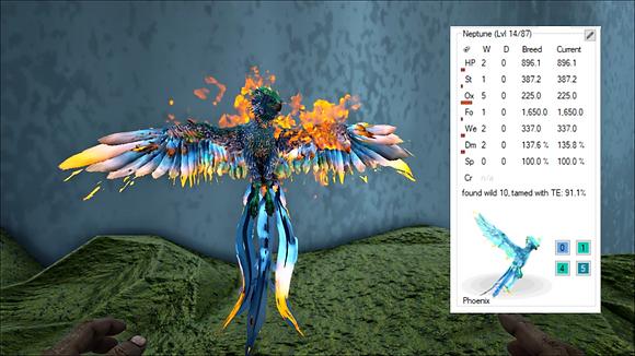 Seafoam Phoenix (Pc PvE)