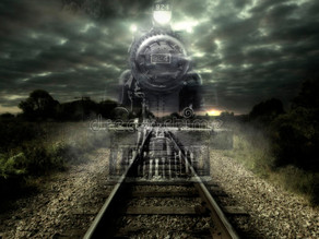 Real ghost train- 104 passengers disappeared