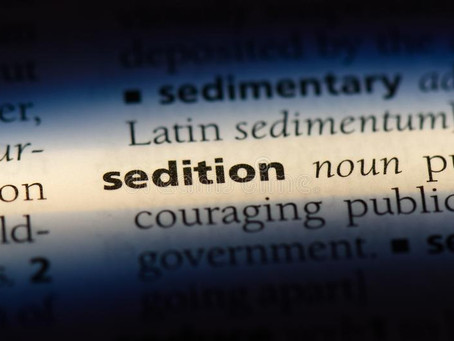 SEDITION AND STAND UP COMEDY