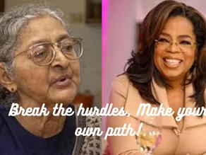 Break the hurdles, Make your own path!