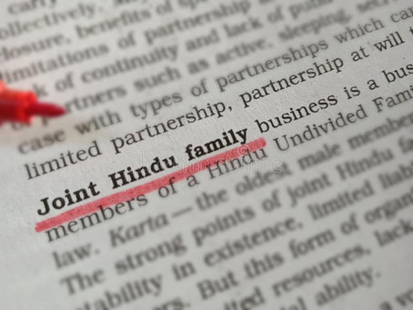 UNCONSTITUTIONALITY OF HINDU UNDIVIDED FAMILY AS A TAX TOOL
