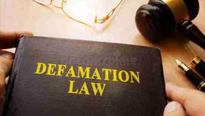 DEFAMATION AND MALICIOUS PROSECUTION