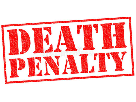 Death penalty and why the Judges break their pen's nip after awarding the death penalty?