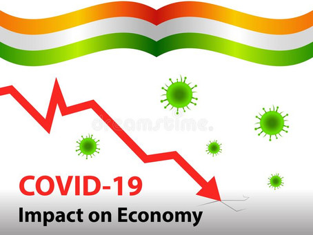 COVID 19-IMPACTS ON INDIAN ECONOMY-INDIA RISKS STAGNATION