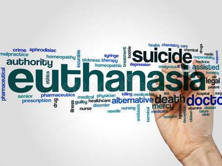 LEGALITY OF PASSIVE EUTHANASIA IN INDIA