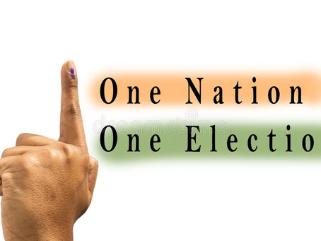 ONE NATION ONE ELECTION: DOES THE NOTION LEAD US TO A WORST SITUATION FROM A BAD ONE?