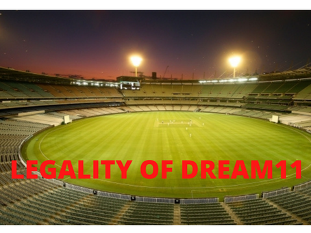LEGALITY OF DREAM11