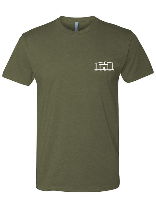 Dri Fit Crew Neck - Winter Drafting Tees