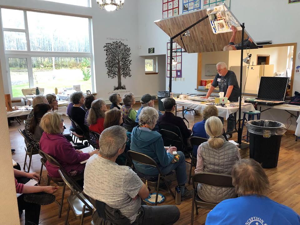 Sterling Edwards workshop, September 2018