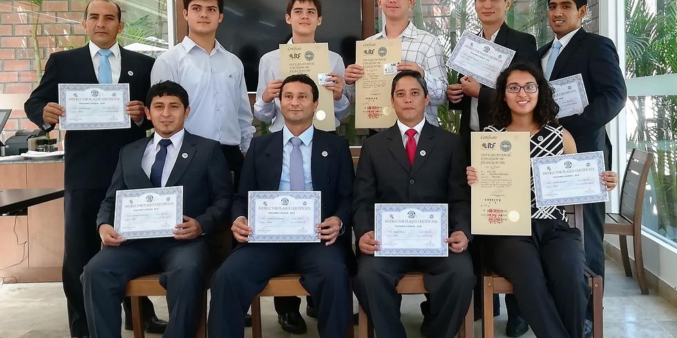 Entrega de certificaciones I.T.F.