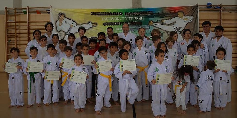 Seminario Nacional de Taekwon-Do - Lima 2019