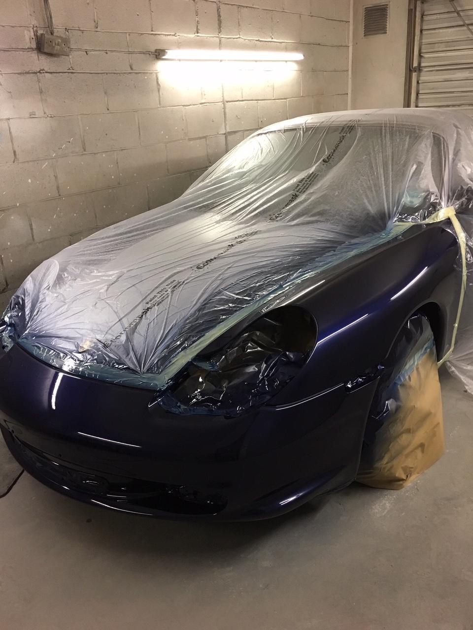 Car bumper repair