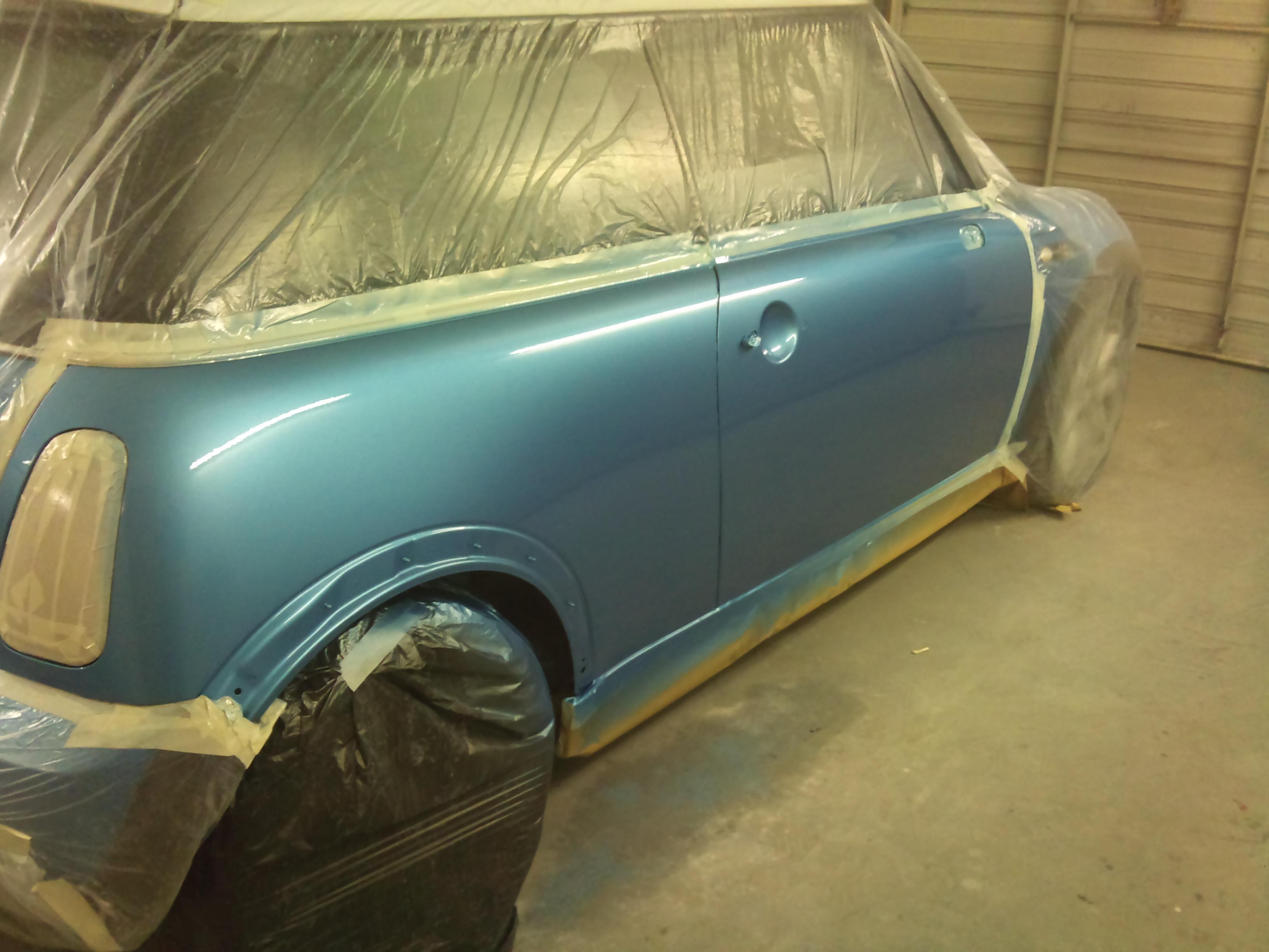Car body repaint