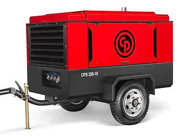 Передвижной дизельный компрессор Chicago Pneumatic CPS 350-10