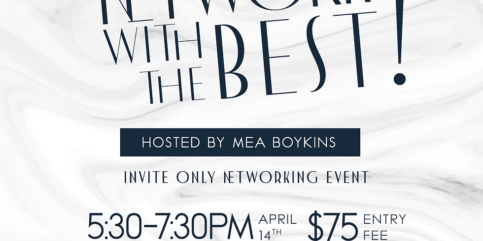 Network with the Best!