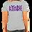 Thumbnail: V-neck Purple solid logo
