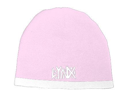 Pink/White Beanie