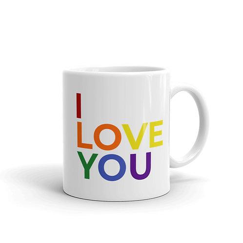 I Love You LGBTQ+ Mug