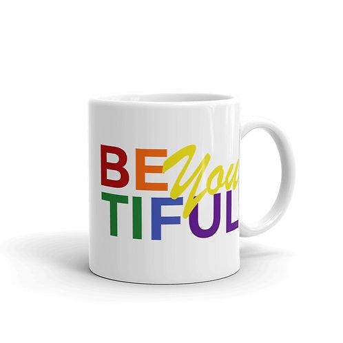 BeYOUtiful LGBTQ+ Mug