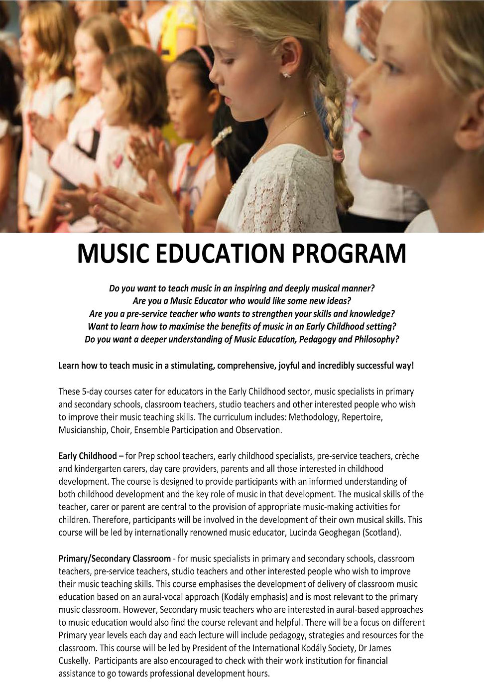 beat of the bush winter music program tenterfield 8-12th july 2019 cuskelly college of music