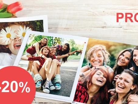 20% korting op ALLE fotoboeken
