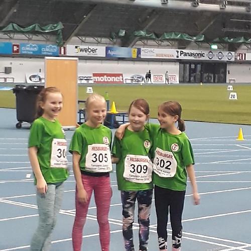 Helsingin Tarmon T11 4x100 m ja 4x60 aj viestijoukkue Tampere Junior Indoor Game