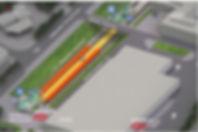 Liikuntamylly Myllypuron_metroasema ja P