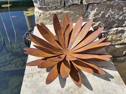 Chrysantheme auf Platte