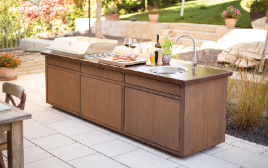 Luxus Outdoorküche